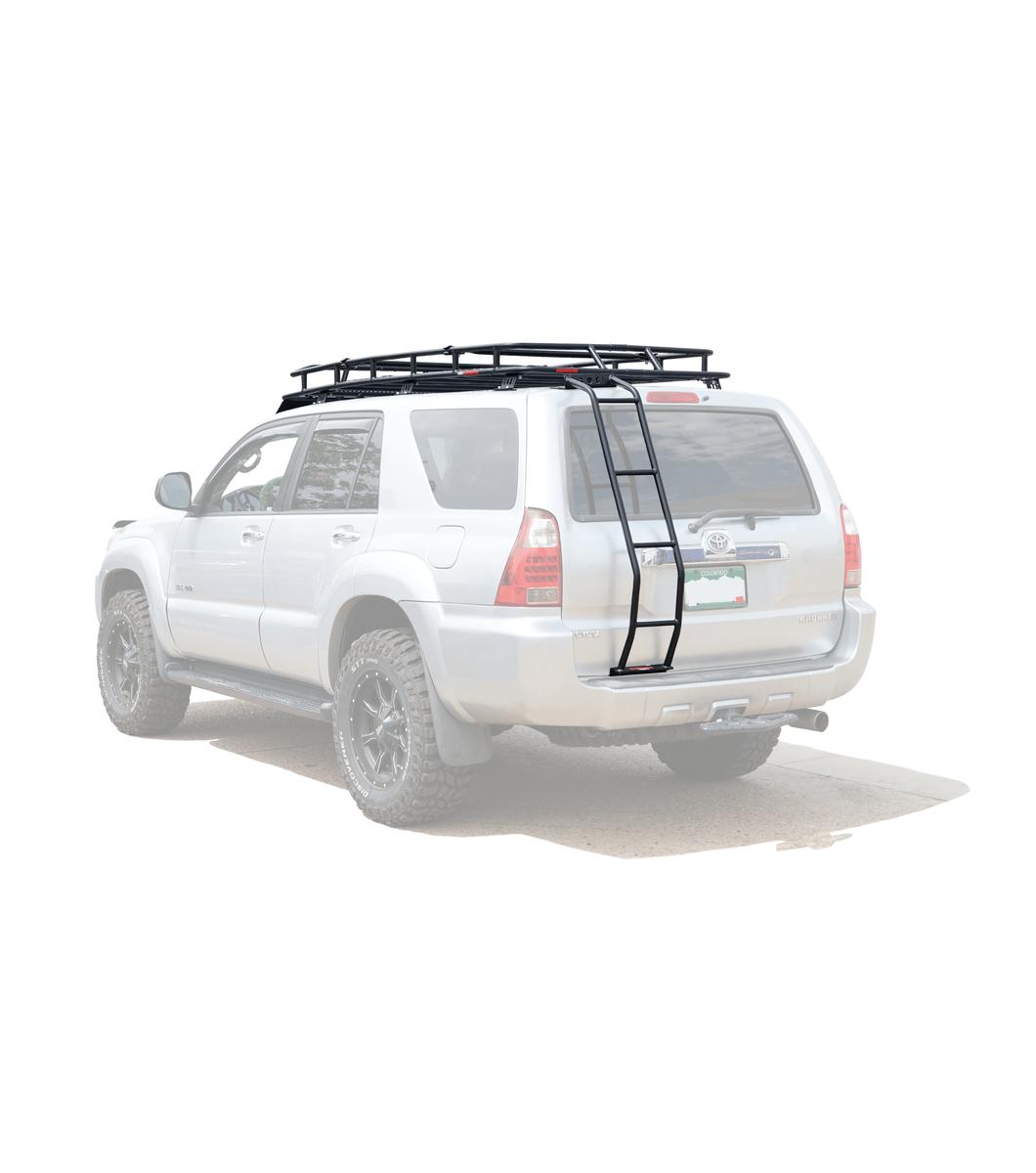 toyota 4runner 4th gen ranger rack multi light setup no sunroof
