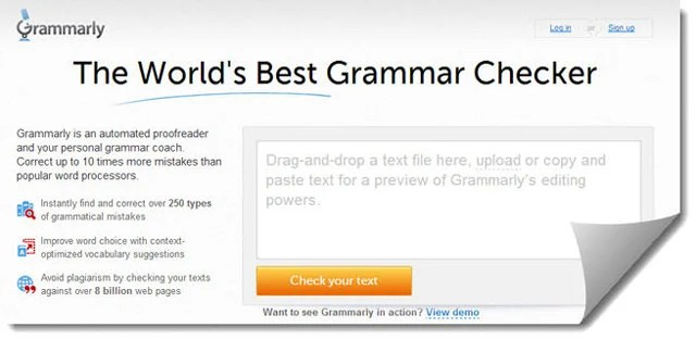 Grammarly-proofreader