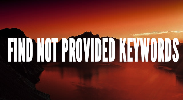 Find not provided keywords