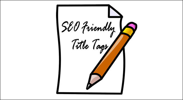 Title tags and seo