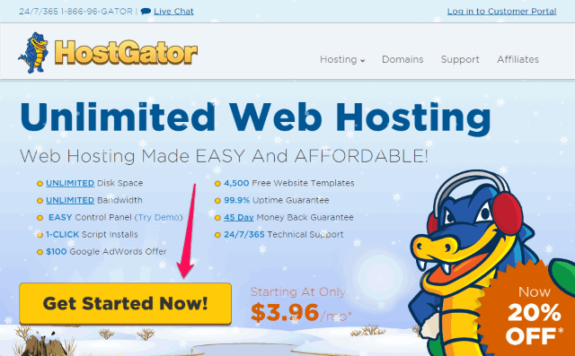 Hostgator-plan