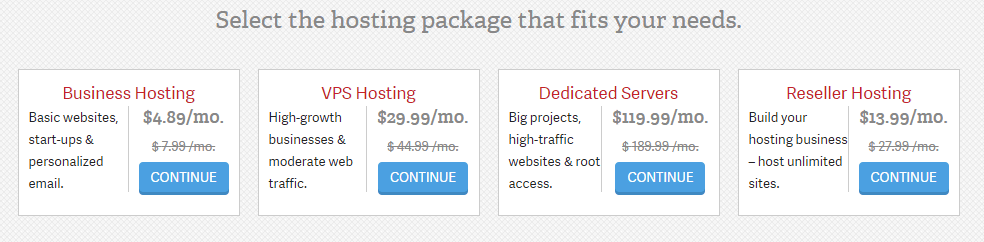 Other hosting coupon offer