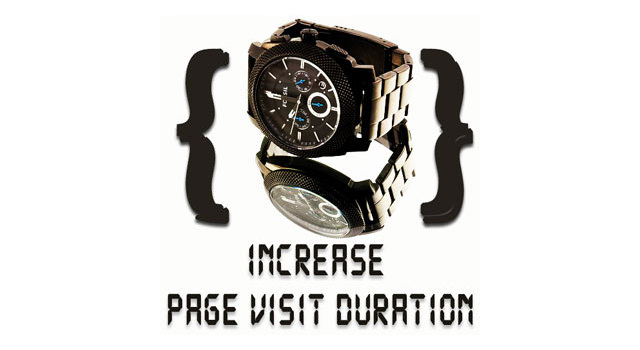 Page visit duration