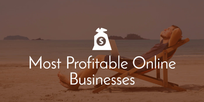 Profitable online businesses