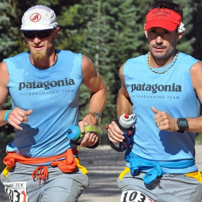 Jeff Browning and Rod Bien TransRockies Run