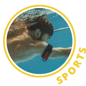 B STRONG Applications Sports Swimming