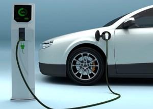 Photo of EV charging station