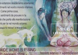 Womb Blessing – Cerchio a Lucca