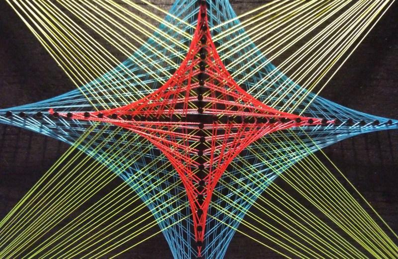 Yıldız Detaylı Filografi Tablo (No:2)