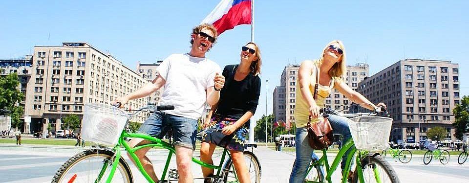 Chile: Bicicleta por Santiago