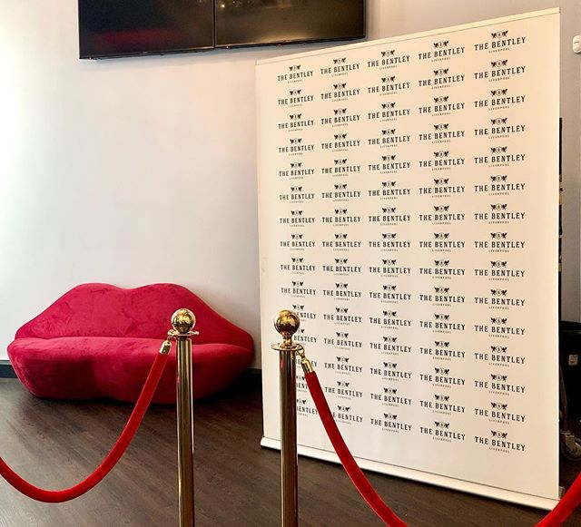 Classy Press Wall 👄 couch isn't bad either #printing press #wall #Liverpool #creative #bannerstand  #largeformat #retail #thebentley @bentleyliverpool