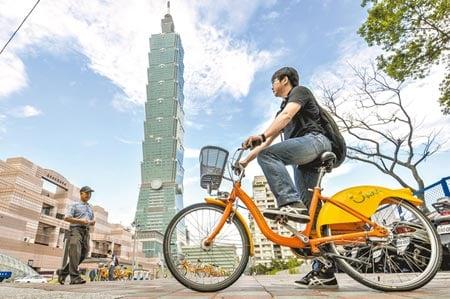 Biking in Taipei