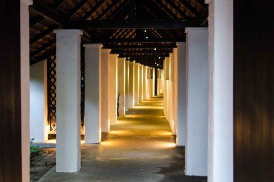 Tamarind Village Hotel Entrance