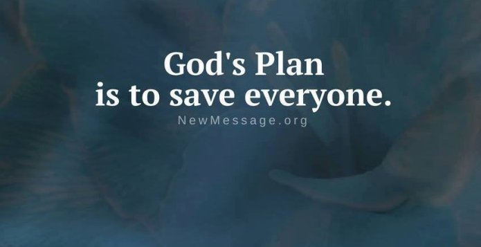 God's Plan to Save Everyone