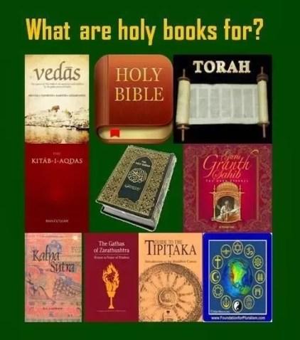 different top religious scriptures