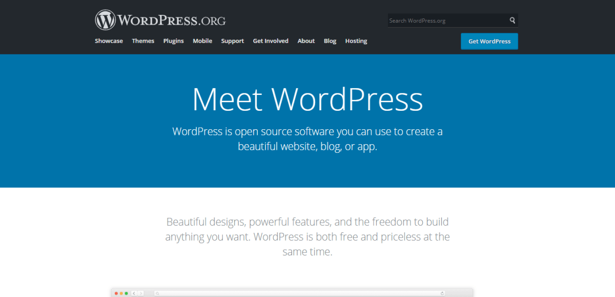 Website Platforms Meet WordPress