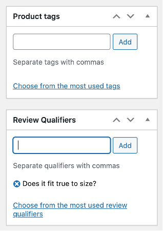 Review Qualifiers Woocommerce Extension