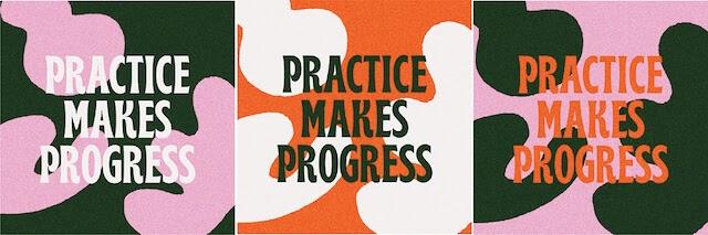 Practice makes progress repetitive design