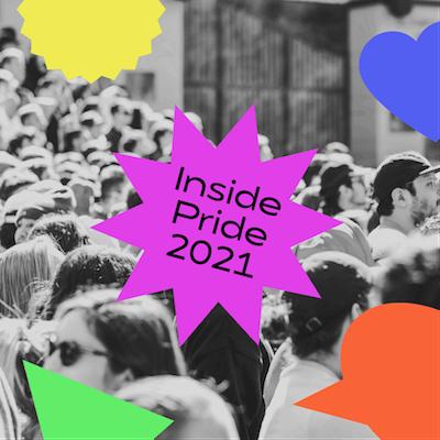 GoDaddy Studio templates made for Pride 2021