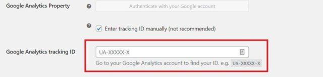 Google Analytics WooCommerce Tracking Code