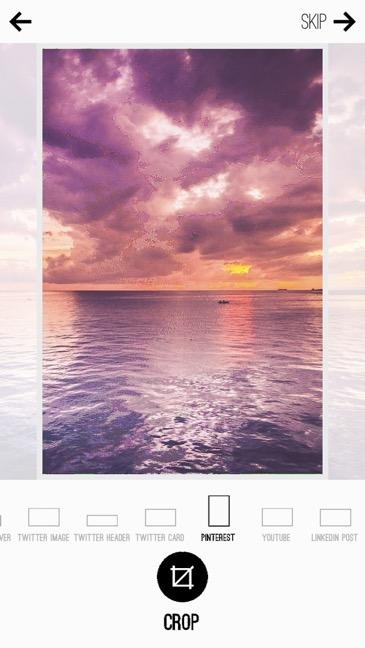Pinterest On Mobile Adjust Transparency