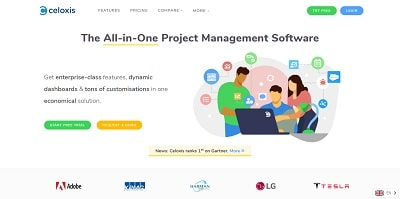 Best Project Management Software Celoxis