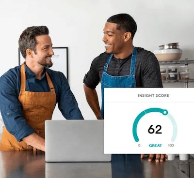 GoDaddy Websites Plus Marketing InSight Score