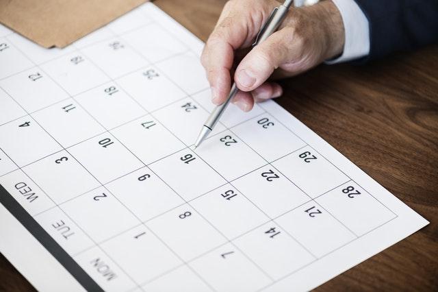 Income Tax Calendar