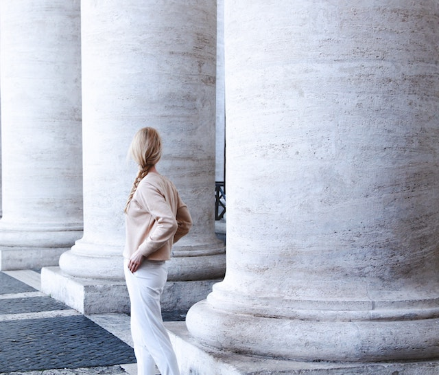 Marble Pillars Represent Three Pillars SEO
