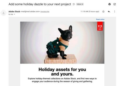 Nurture Email Subscribers Adobe Example