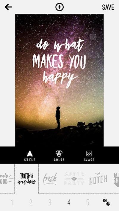 Pinterest On Mobile Text Edit