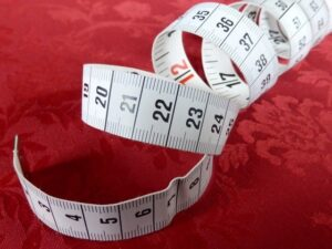 Measuring Tape To Depict Measuring Success