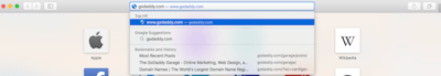 What Is A Domain Name GoDaddy Browser Bar
