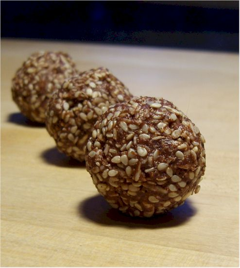 Sesame Chocolate Bonbons