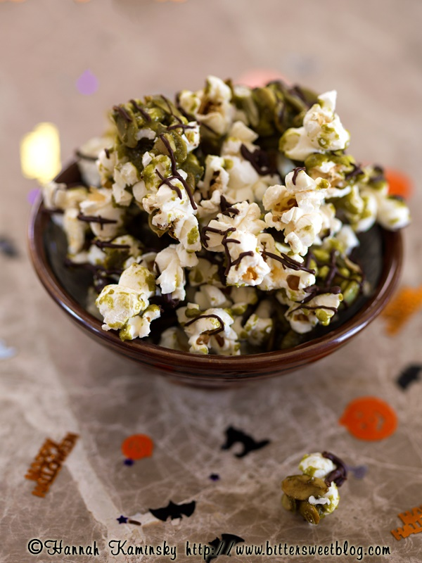 Matcha Munchies Green Tea Popcorn Snack