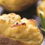 Twice Baked Hummus Potatoes With Rosemary Recipe
