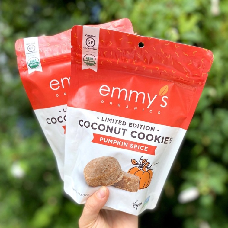 50 Dairy-Free Pumpkin Spice Sweets, Snacks, and More! Pictured: Emmy's Coconut Cookies