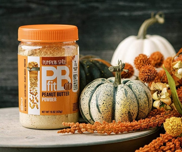 50 Dairy-Free Pumpkin Spice Sweets, Snacks, and More! Pictured: PB Fit Peanut Butter Powder