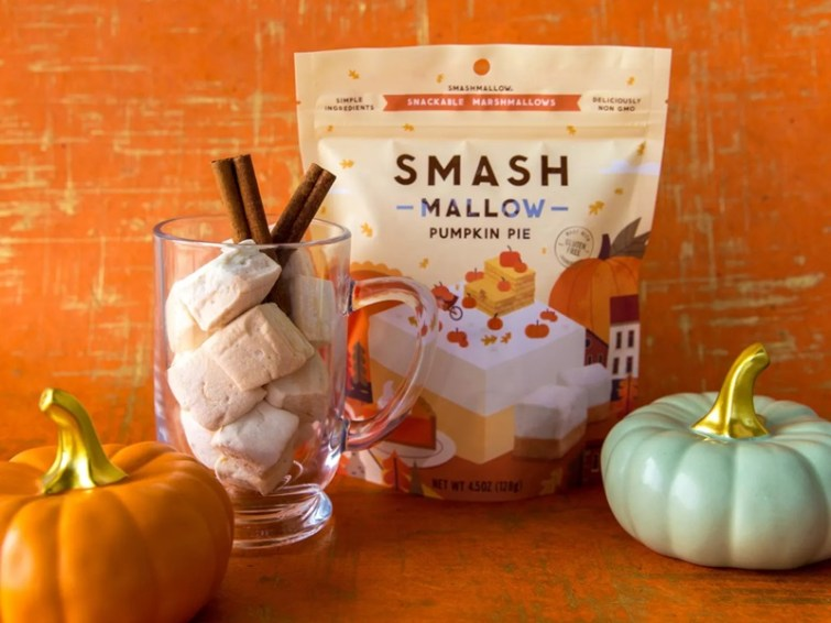 50 Dairy-Free Pumpkin Spice Sweets, Snacks, and More! Pictured: Smashmallow Pumpkin Pie