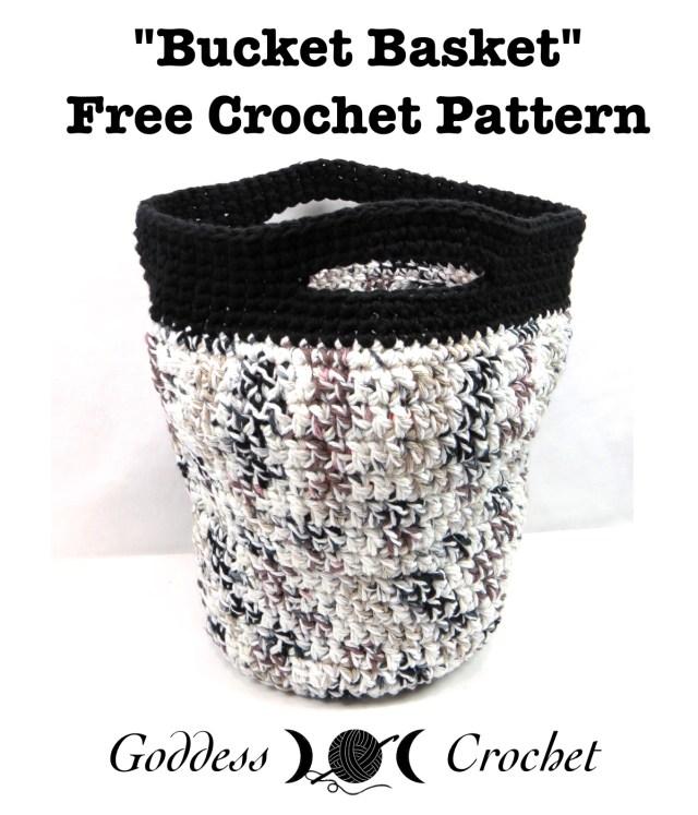 Free Crochet Pattern Fox Basket : Free Crochet Pattern ? Bucket Basket ? Goddess Crochet