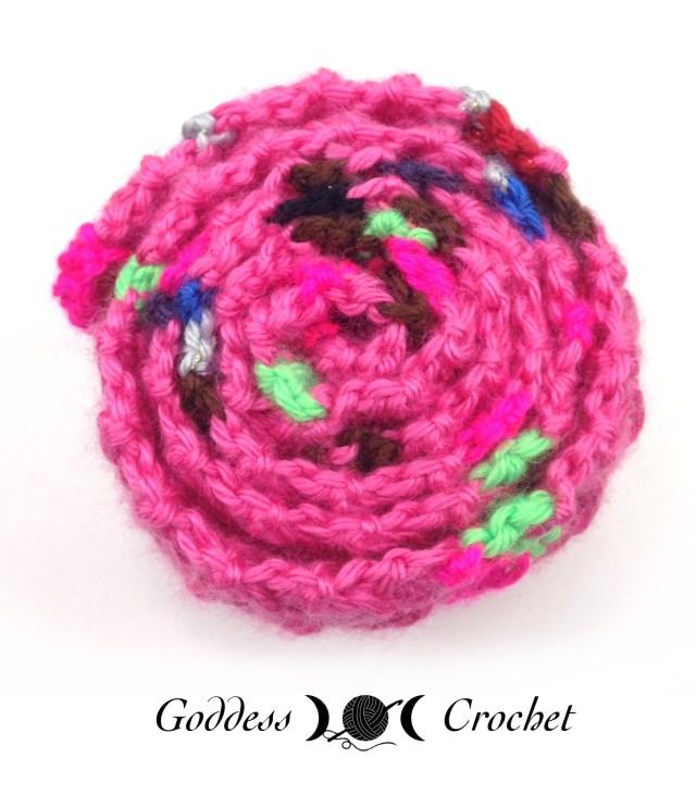 Crochet Mood Scarf 2016 - April - Goddess Crochet