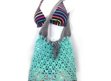 """To The Beach"" Tote Bag - Free Crochet Pattern"