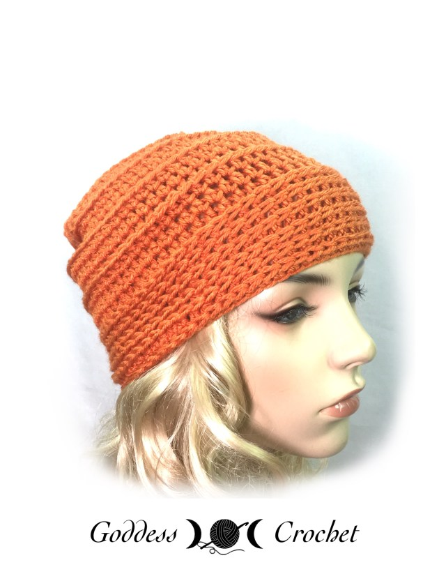 Carefree Slouchy Hat - Goddess Crochet