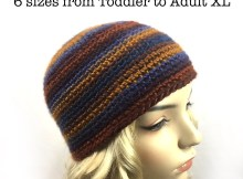 Single Crochet Beanie (Staggered Increases) - Free Crochet Pattern