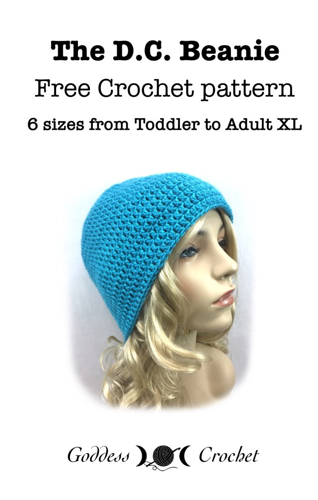 The Dc Beanie Free Crochet Pattern Goddess Crochet