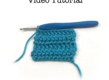 Double Crochet - Video Tutorial