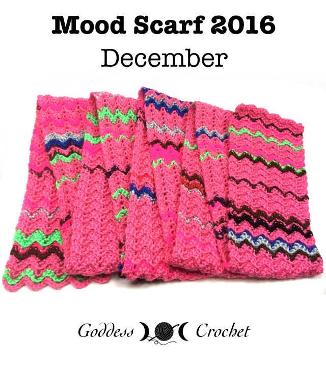 Mood Scarf 2016 - Goddess Crochet