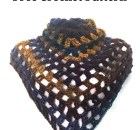 """Here Comes Treble"" Triangle Shawl - Free Crochet Pattern"