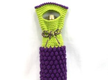 Wine Bottle Bag - Free Crochet Pattern