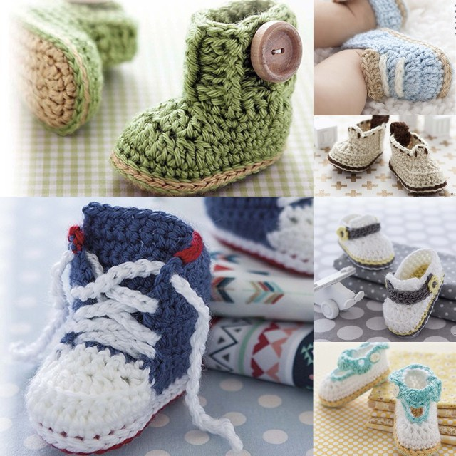 Modern Baby Booties - Book Review